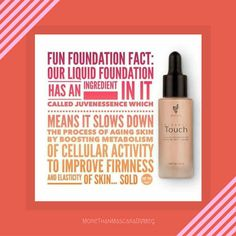 This liquid foundation is top notch, you've got to try it to believe it! Talk about flawless coverage that's good for your skin. Yes, please! #Younique
