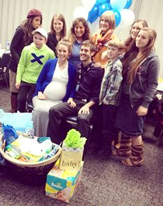Jill Duggar, Derick Dillard Celebrate Baby Shower With Co-Workers - Us Weekly