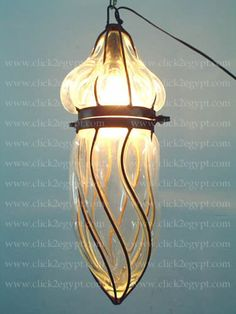 Clear_Glass_Wrought_Iron_Hanging_Lamp_Light.jpg (375×500)