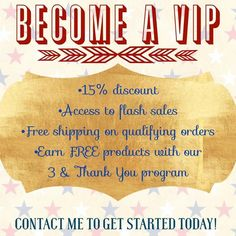 Monat's VIP's get awesome benefits!! You also get an only for you gift each month with qualifying orders