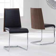 Found it at Wayfair.co.uk - Narooma Solid Walnut Upholstered Dining Chair