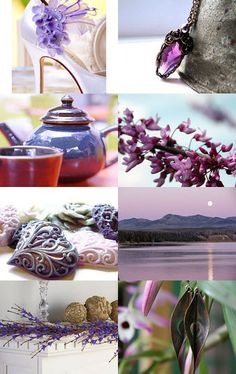 Bohemian Purple by Maria on Etsy--Pinned with TreasuryPin.com