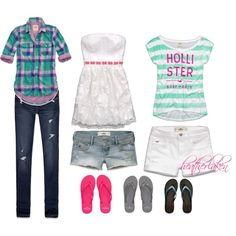 """""""Hollister"""" by heather-laken-michael on Polyvore"""