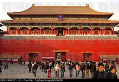 Meridian Gate, Forbidden City, Beijing China