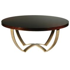 Discover the Porta Romana  Monaco Coffee Table with Polished Top - French polished brass at Amara