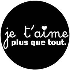 je t'aime Love You More Than, Love Is All, Since Feeling Is First, French Expressions, Silhouette Portrait, Silhouette Cameo, Les Sentiments, French Quotes, Film Music Books