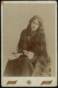 """1800snostalgia:  """"Fortune Teller. Follow for more 1800s nostalgia.  """""""
