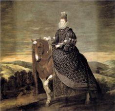 Portrait of Queen Margaret of Austria - Diego Velazquez