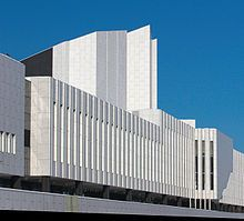 Finlandia Hall, architect: Alvar Aalto