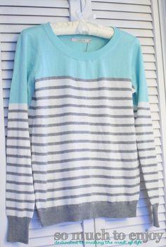 41Hawthron Rowson Colorblock Striped Sweater Stitch Fix Review February 2016  somuchtoenjoy.com #stitchfix