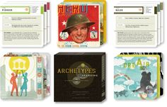 Archetypes Deck // set of 60 cards for brand building // $20 // http://www.chendesign.com/shop/archetypes-in-branding-card-deck-edition/