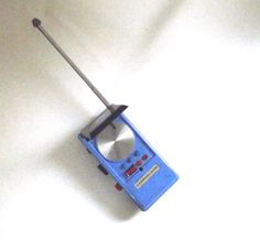 Star Trek Communicator Walkie Talkie Radio Mego by planetalissa
