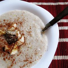 A Reader Recipe: Creamy Vegan Buckwheat Porridge-use coconut milk and skip the fruit and all will be fine!