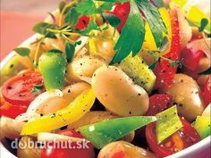 Zeleninovo-fazuľový šalát
