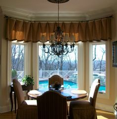 Bay Window Treatments | ... Treatments / Iron hardware - B & B Metal Design www.CamilleMoore.com