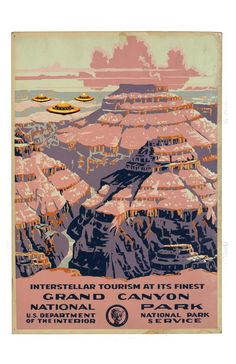 National Parks Service The Grand Canyon by alternatehistories, $20.00
