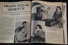 Jerry Lee Lewis, Carl Perkins, Elvis Presley, Johnny Cash