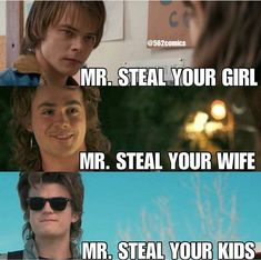 #StrangerThings #JonathanByers #SteveHarrington