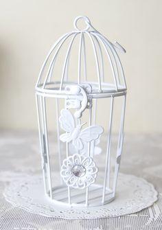Wire Bird Cage  #Homedecor #Birdcage #Vintagestuff #Shabbychic #Vintageolshop #Decoration #Accessory