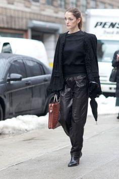Photos: Best-Dressed Street Style at New York Fashion Week Fall 2013 | Vanity Fair