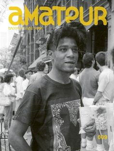 RICKY POWELL'S BASQUIAT COVER