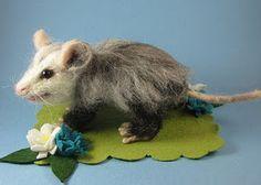 Image result for felted possum