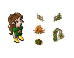 """Miramagia heralds autumn! From Monday (09/30) the festival """"Autumn Mood"""" starts! Until the 7th of October you can enjoy new deocartion, clothing and hairstyles and let your tiny avatar dance through coloured leaves!"""