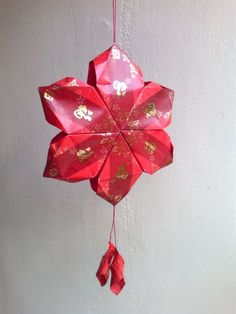 Ang pow oval ball tutorial chinese new year pinterest for Ang pow koi fish tutorial
