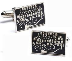 Microchip Micro Chip Computer Cufflinks Cuff Links Cufflinks. $49.95