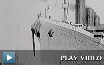 Footage of days before and after the Titanic disaster