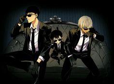 Detective Conan #Amuro #Akai #Conan