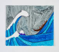 What is a tsunami?  Find out more by creating a picture based on the Japanese painting The Great Wave.