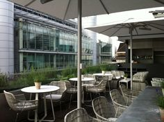 Angler Rooftop restaurant, South Place Hotel, London