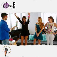 ¡Wooo! @fervlnz_ celebra su mini-victoria por el uso de accesorios pero @eljuanjoherrera tiene algo que decirle a las chicas. Sigue el webisodio por www.chicaemexico.com