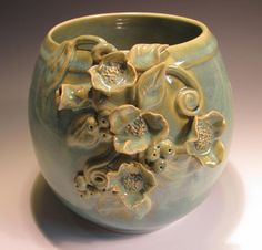 sweet and romantic from http://claynestpottery.etsy.com