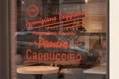 #type #window #signage #italy #italian #food #deli #typography #handpainted  #painted  #paint #identity