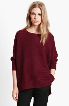 Zadig & Voltaire 'Athina Deluxe' Dolman Sleeve Cashmere Sweater available at #Nordstrom