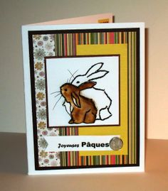THE NEW AND IMPROVED NUTTTY CARDMAKER: EASTER IN STRIPES & FLOWERS