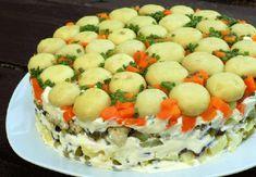 Salata Poienita cu ciuperci este un aperitiv colorat, savuros si satios. Se prepara foarte usor si este extraordinar de delicioasa. Food And Drink, Cheese, Cooking, Breakfast, Desserts, Crafts, Salads, Recipes, Kitchen