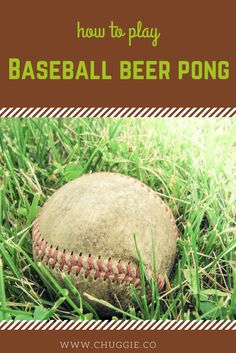 Base Ball Beer Pong I Giant I Quotes I Games I Party I Tips I Rules I Funny I Outside I Table I How to Play I Humor I Drinking Games I Weekend I College I Friends I Ideas I Party Ideas I Balls