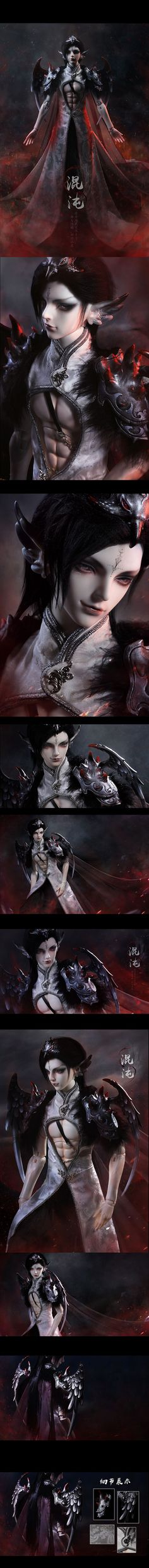 BJD Limited 60 Sets Chaos Beast Version 68cm Boy Boll-jointed doll_Limited DOll_LOONG SOUL_DOLL_Ball Jointed Dolls (BJD) company-Legenddoll
