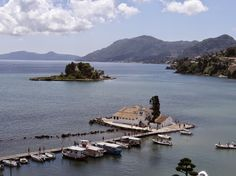 Corfu island, one of the top destinations in Greece