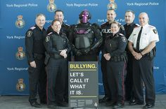 It won't help his nighttime ninja stealth, but the @YRP UNITED superhero decided to #PinkItForward on #PinkShirtDay
