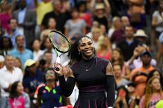 Serena Williams Photos Photos - Serena Williams of the United States celebrates her victory over Ekaterina Makarova of Russia during her first round Women's Singles match on Day Two of the 2016 US Open at the USTA Billie Jean King National Tennis Center on August 30, 2016 in the Flushing neighborhood of the Queens borough of New York City. - 2016 US Open - Day 2