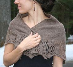 I love this shawl! Amanda Lilley Designs--Amanda Lilley--Eden Shawl