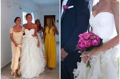 wedding in Santorini By Aressana
