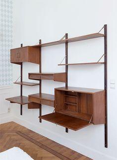 Het is vintageweek op woonblog: ook deze wand- en Tomadorekken zoeken een nieuwe thuis / www.woonblog.be