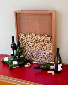 wine-cork-holders-have a guest sign a cork-then place in boxed frame to hang later!! www.MadamPaloozaEmporium.com www.facebook.com/MadamPalooza