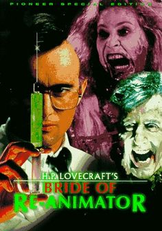 Great Movie ;-)  Bride of Re-Animator 1990 Film  Bride of Re-Animator is a 1990 American science fiction horror film directed by Brian Yuzna and was written by Yuzna, Rick Fry and Woody Keith. H. P.