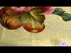 Pintura em tecido - Eliane Nascimento: Figos - YouTube